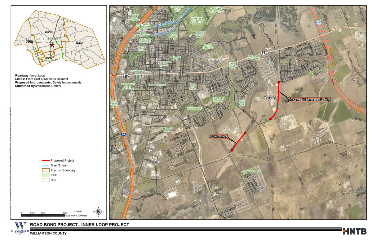 Inner Loop Safety Improvements Map